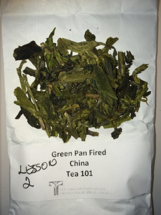 Green Pan Fired - dry