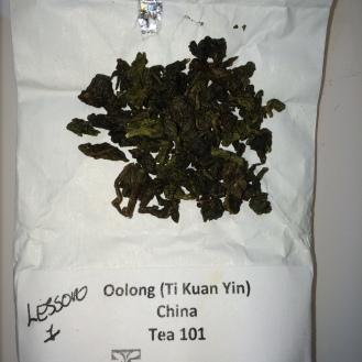 Oolong - Ti Kuan Yin - dry