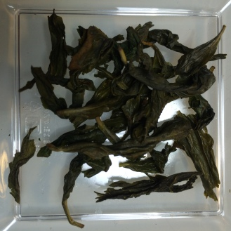 Pouchong Oolong - wet