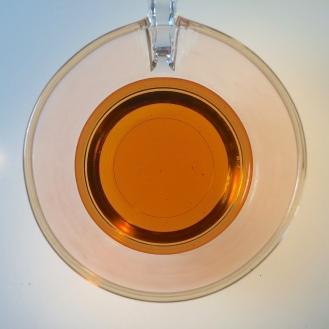Oolong long oxidized - liquor