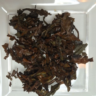 Oolong long oxidized - wet